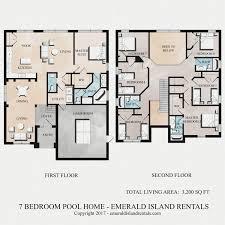 villa house plans emerald island 7 bed villa floor plan cave house floor plans