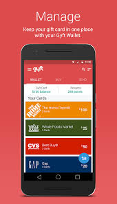 mobile gift cards gyft mobile gift card wallet android apps on play