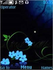 nokia 5130 menu themes nokia 5130 xpressmusic blue flowers 11 theme