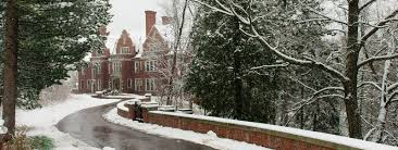 duluth winter village outdoor local winter market at glensheen