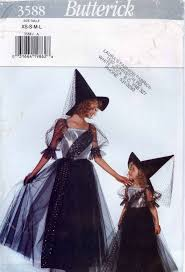butterick halloween costumes girls witch costume sewing pattern butterick 3588 halloween