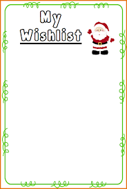 www my wish list 7 christmas wish list template resumes word