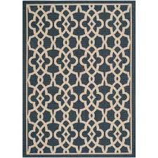 Safavieh Outdoor Rugs Safavieh Blue Outdoor Rugs Rugs The Home Depot