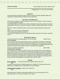 event coordinator resumes event coordinator resume sle microsoft word doc