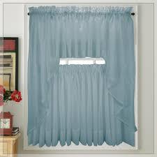Blue Kitchen Curtains Monarch Butterfly Kitchen Curtains Home Design Gallery