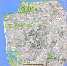 San Francisco Streetcar Map San Francisco Bay Area Photo Blog August 2017