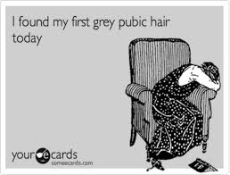 gray pubic hairs the shocking discovery of grey pubic hair