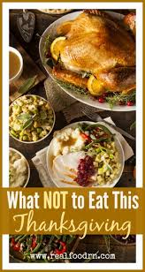 what not to eat this thanksgiving