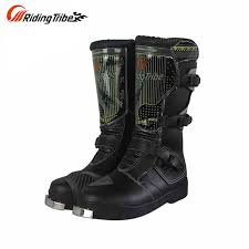 waterproof motocross boots pro biker motorcycle boots men riding boots racing motocross shoes