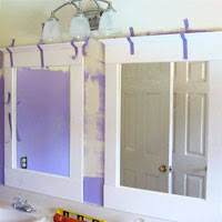 Wood Frames For Bathroom Mirrors Diy Bathroom Update U2013mirrors In My Own Style