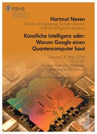 hartmut neven artificial intelligence or why google is building