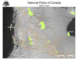 Banff National Park Map National Parks Of Canada U2013 Maps