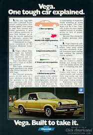chevy vega chevy vega one tough car explained 1976 click americana