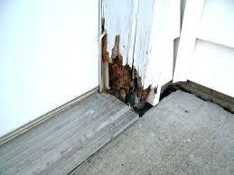 Repair Exterior Door Jamb How To Replace A Door Jamb Rotted Exterior Door Frame Splice