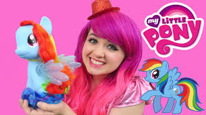 Cool My My Little Pony Rainbow Dash Cool Style Pony Toy Review Kimmi