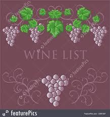 free wine list template templates vintage wine list cover design stock illustration vintage wine list cover design