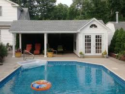 Cabana Pool House Lapp Structures Quality Amish Built Poolhouse Cabana Guesthouse