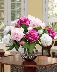 fascinating flower arrangements for dining room table including