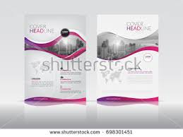 report front page template cover design template annual report cover stock vector 698301451