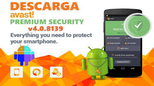 avast mobile security premium apk descargar avast mobile security premium v4 0 8139 apk