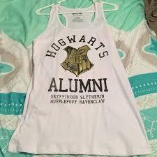 hogwarts alumni tank harry potter tank top hogwarts alumni tank tops and white tank tops