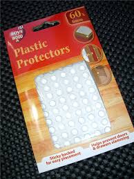plastic protectors dots pads self adhesive cabinet buffers drawer