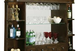 cabinet beautiful hutch with wine rack a great way to finish off