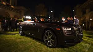 the rolls royce is a beautiful convertible for the 0 01