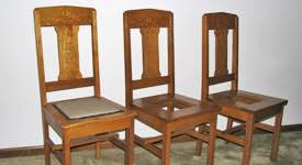 Mission Style Dining Chairs Ebben Custom Cabinets U0026 Furniture