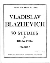 70 tuba studies blazhevich vladislav imslp petrucci