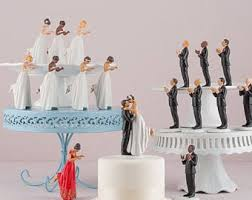 biracial wedding cake toppers cake topper etsy