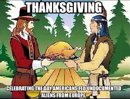 thanksgiving is also a day of mourning bluejayblog
