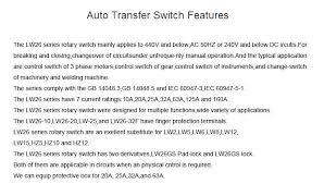 generator automatic transfer switch wiring diagram lw26 20 ammeter