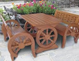 Handmade Outdoor Furniture by Unique Wooden Bench Decorating Ideas To Personalize Yard