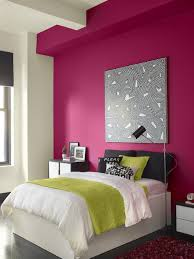 modern warm nuance of the color house wall can be decor with white