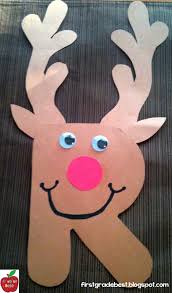 christmas kids craft make a rudolph the red nosed reindeer craft