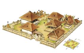 18 multi family house plans with courtyard file balinese