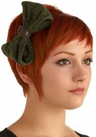 copper and brown sort hair styles cute very short hairstyles for round faces woman with bow for