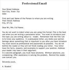 professional email template business email templates free free