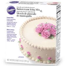 wilton creamy white decorating buttercream icing mix ebay