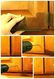 Where To Put Knobs On Kitchen Cabinets Installing Cabinet Knobs Moekafer
