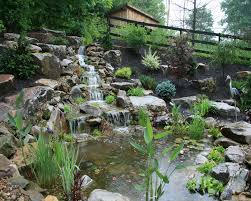 Pictures Of Backyard Waterfalls by Pond Installation Waterfalls Pondless Waterfalls Waterscapes