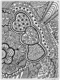 flower and heart free 2016 coloring pages printable