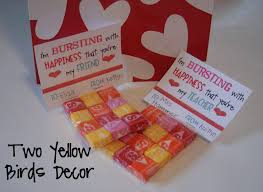 school valentines two yellow birds decor school s treats