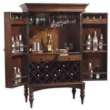 Steamer Bar Cabinet New Steamer Folding Wine Liquor Bar Cabinet In Black Liquor