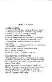 Operations Resume Officer Responsibilities