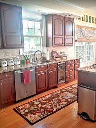 painted kitchen cabinets makeover before u0026 after at home with