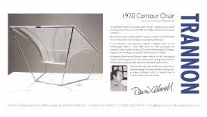 trannon furniture perspex chair by david colwell v u0026a and vitra