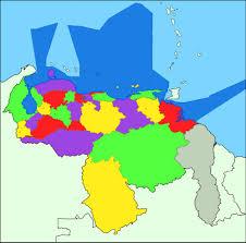Venezuela World Map by Venezuela Maps