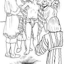 coloring pages joseph bible archives mente beta